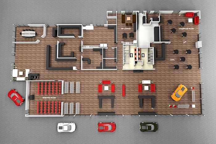Creative Floor Plan
