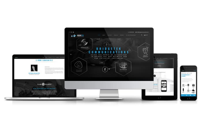 Bridgetek Communications Website Design