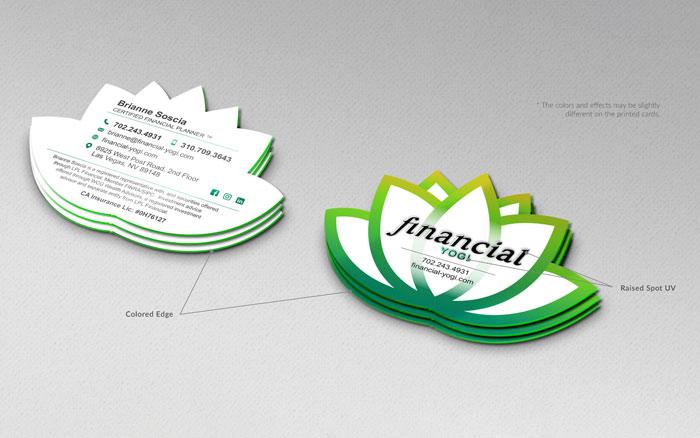 Financial Yogi Creative Business Cards