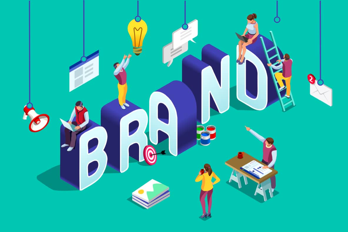 the different parts of branding